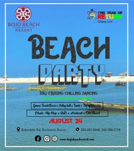 BEACH PARTY @ Bojo beach Resort